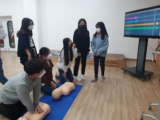 서부소방서연계, 심폐소생술 안전교육